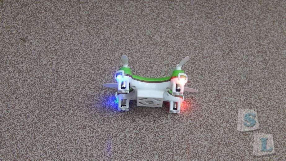 Aliexpress: Очень маленькая летающая «жужалка» - Cheerson CX10