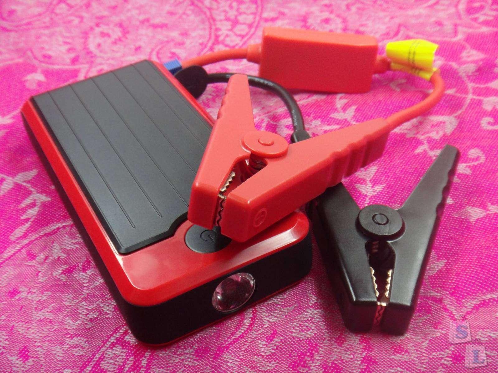 Обзор T6 Car Jump Starter 12000mAh Power Bank или повербанк для прикуривания-запуска автомобиля