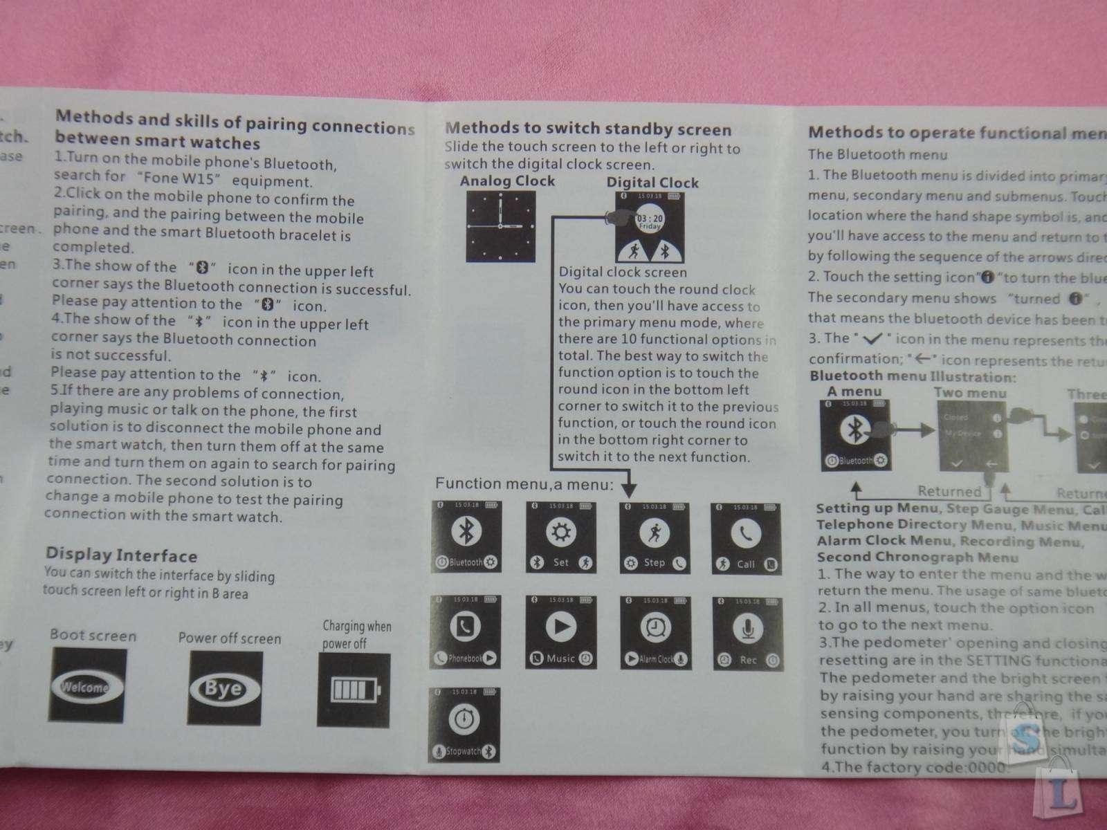 GearBest: Обзор MIFONE W15 умные фитнес часы для управления смартфоном