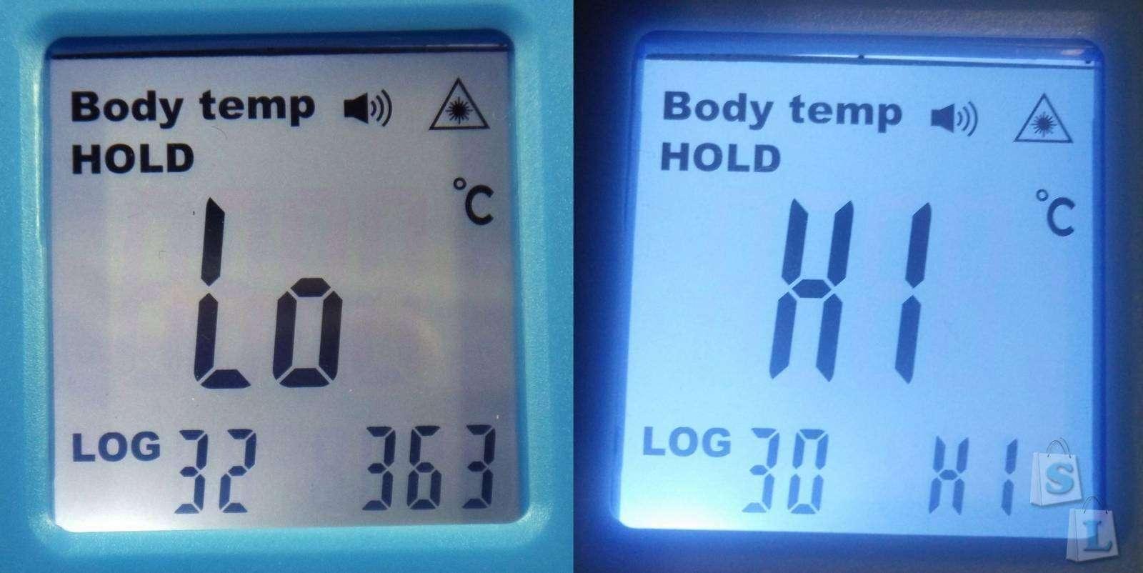 видео инструкция по замеру температуры инфракрасным термометром b