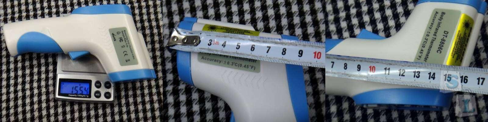 TVC-Mall: Обзор пирометра DT-8806C инфракрасный термометр с лазерным прицелом