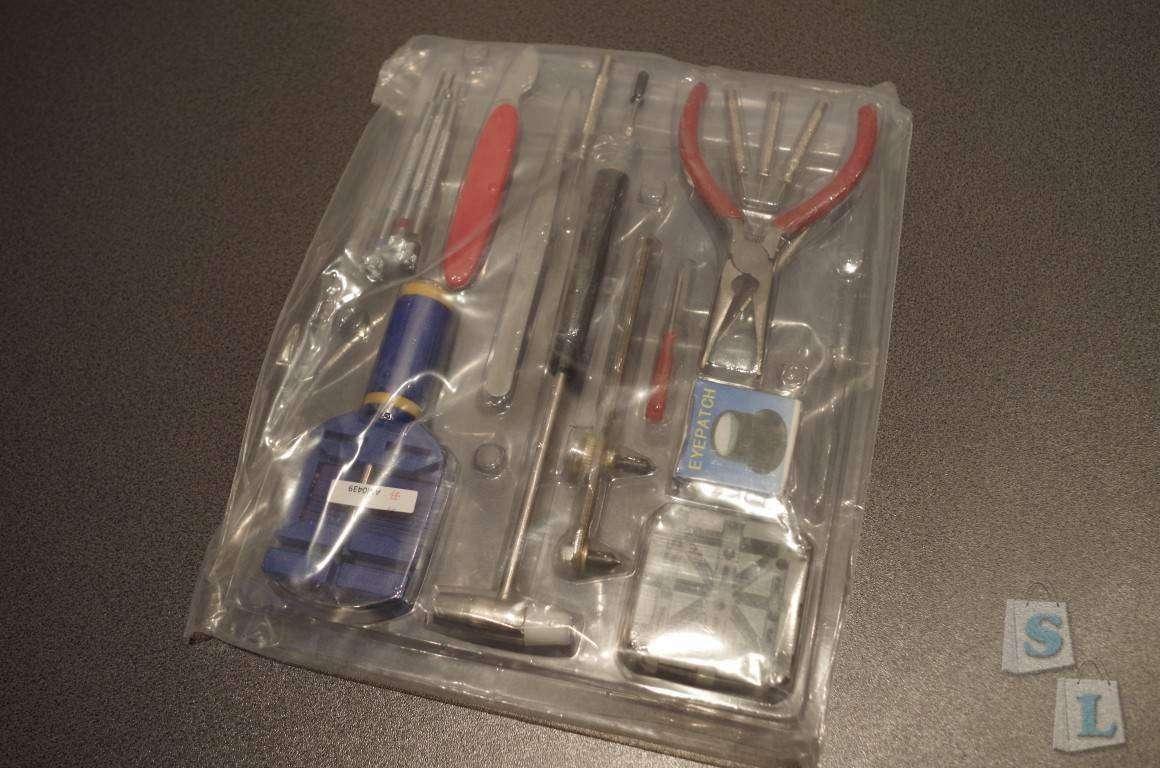 ChinaBuye: Набор для часовщика и бокс для хранения мелочевки