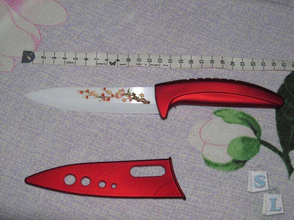 Banggood: Красивые керамические ножи на подставке