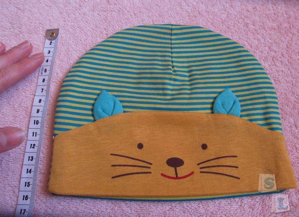 Sammydress: Детская шапочка в полоску с «котом» оказалось мала…