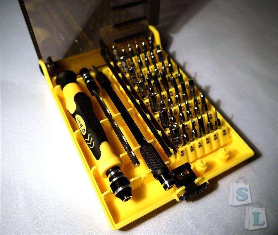 ChinaBuye: Набор бит с отверткой Jackly JK-6089-С
