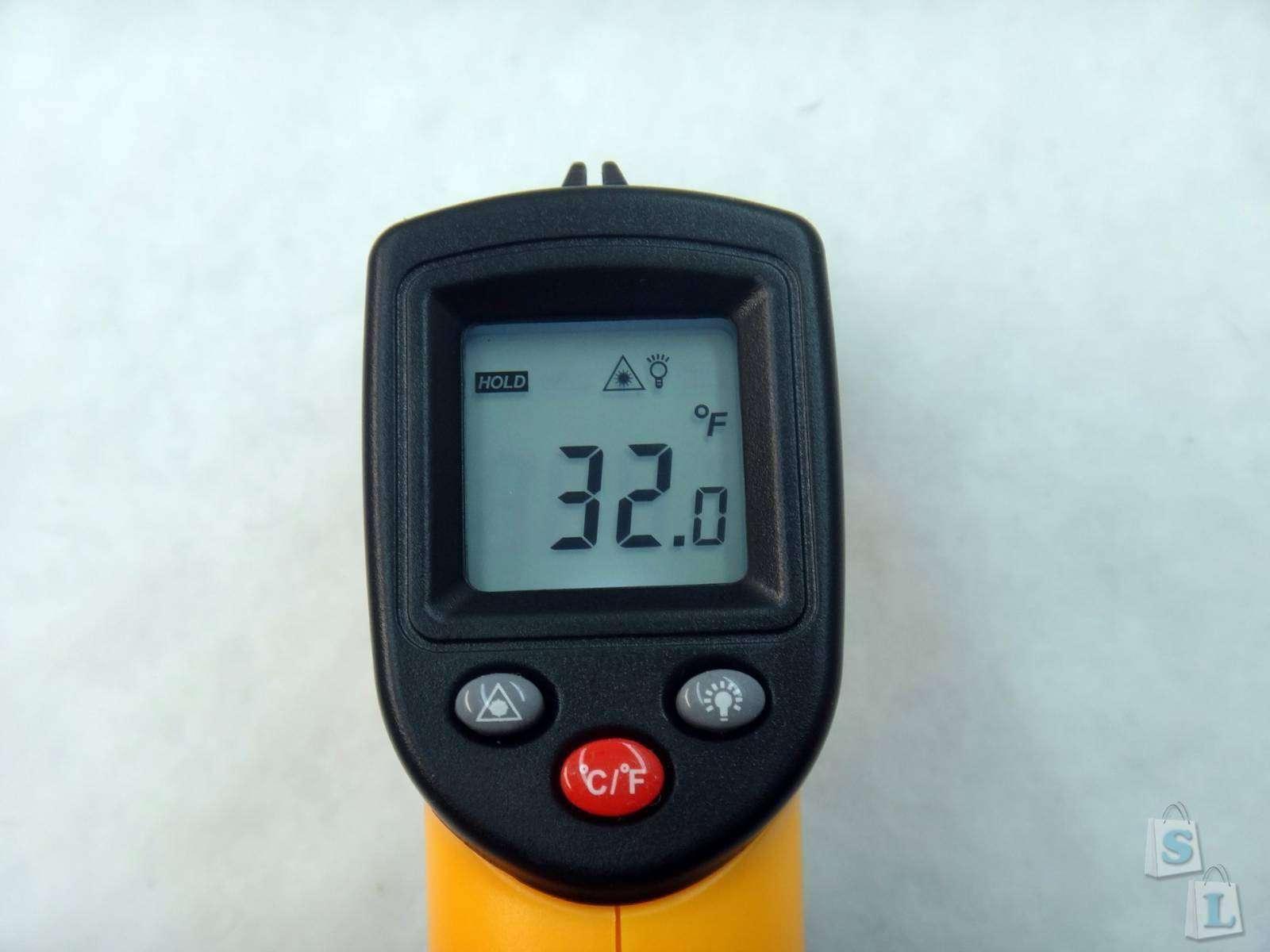 GearBest: Обзор GM320 инфракрасный пирометр термометр с диапазоном -50С + 380С