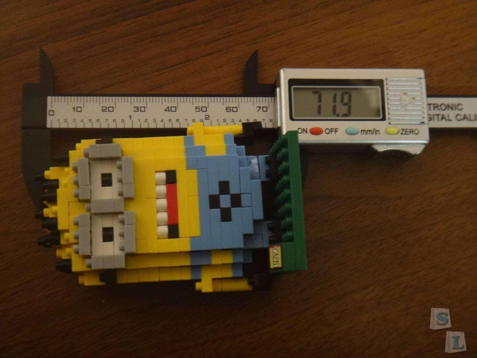 GearBest: Конструктор  WLtoys LOZ Миньон - 260 деталей - Minion Building Block Educational Assembling