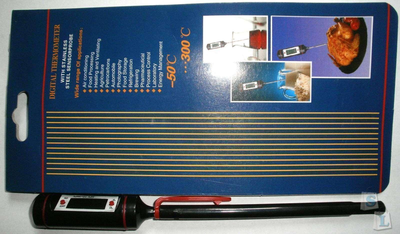 DealExtreme: Цифровой термометр для жидкостей и еды
