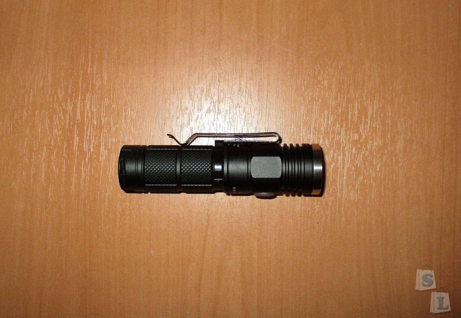 Banggood: Недорогой и хороший фонарик на АА/14500