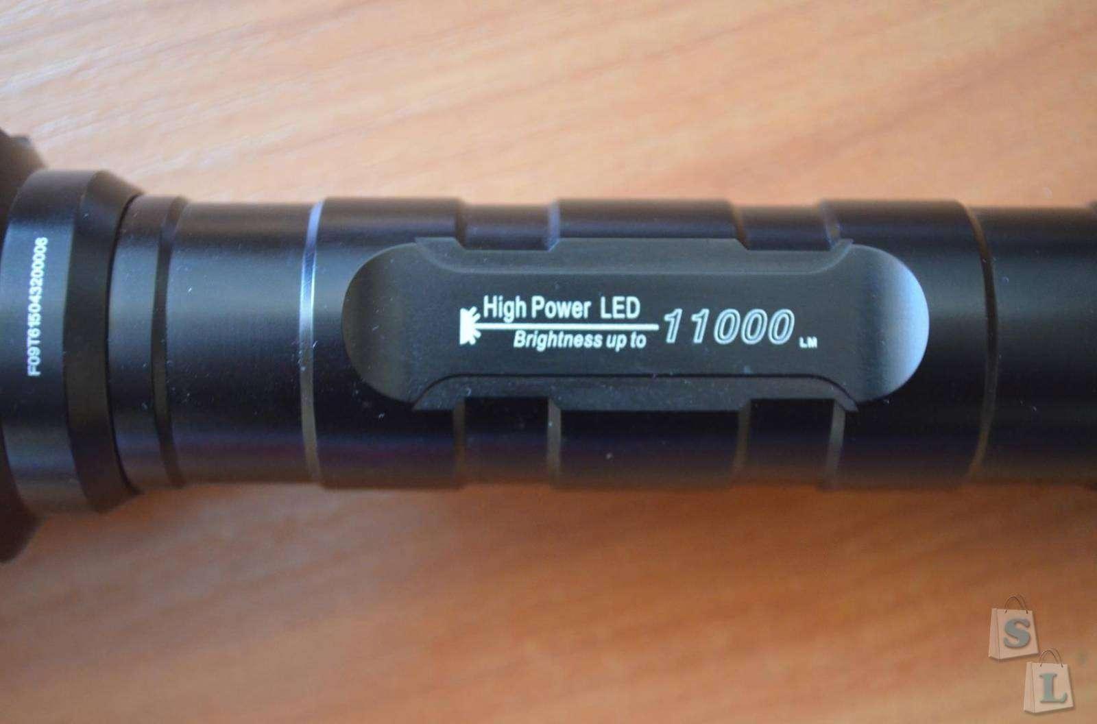 TomTop: LED фонарь TrustFire Lumen 11000