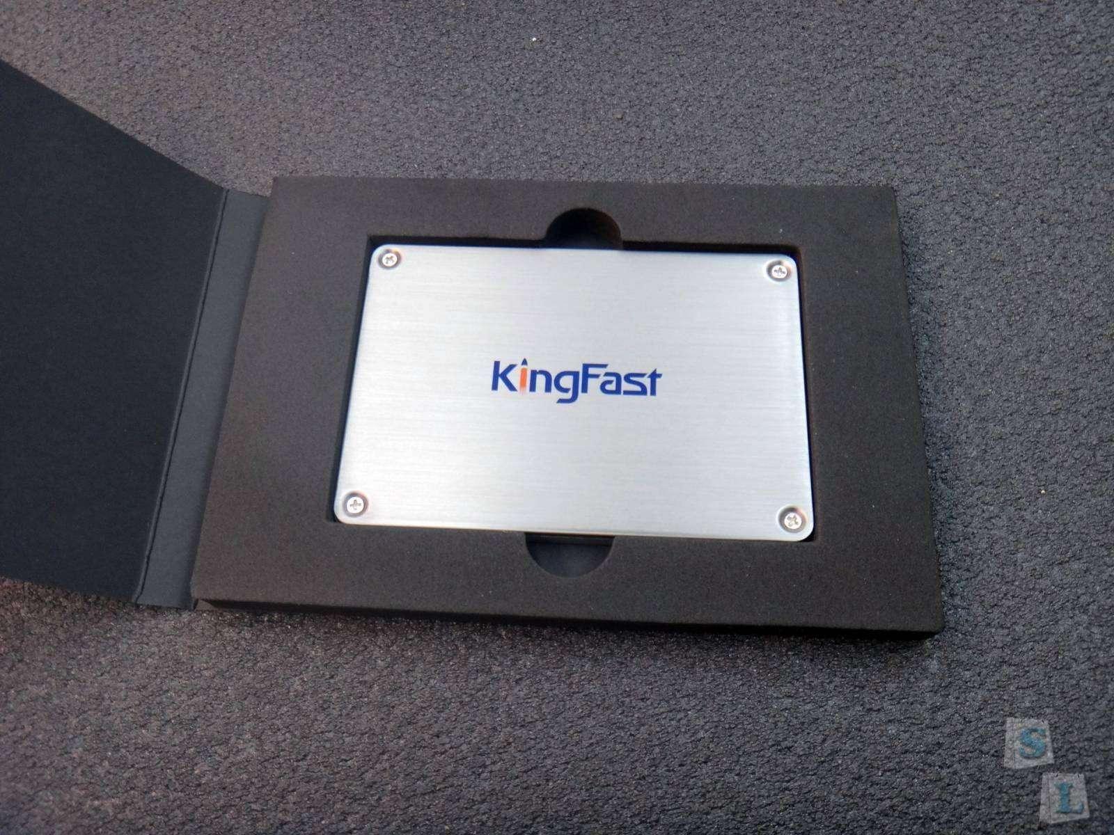 Banggood: Обзор SSD KingFast F9 128GB ускорение работы ноутбука установка вместо HDD