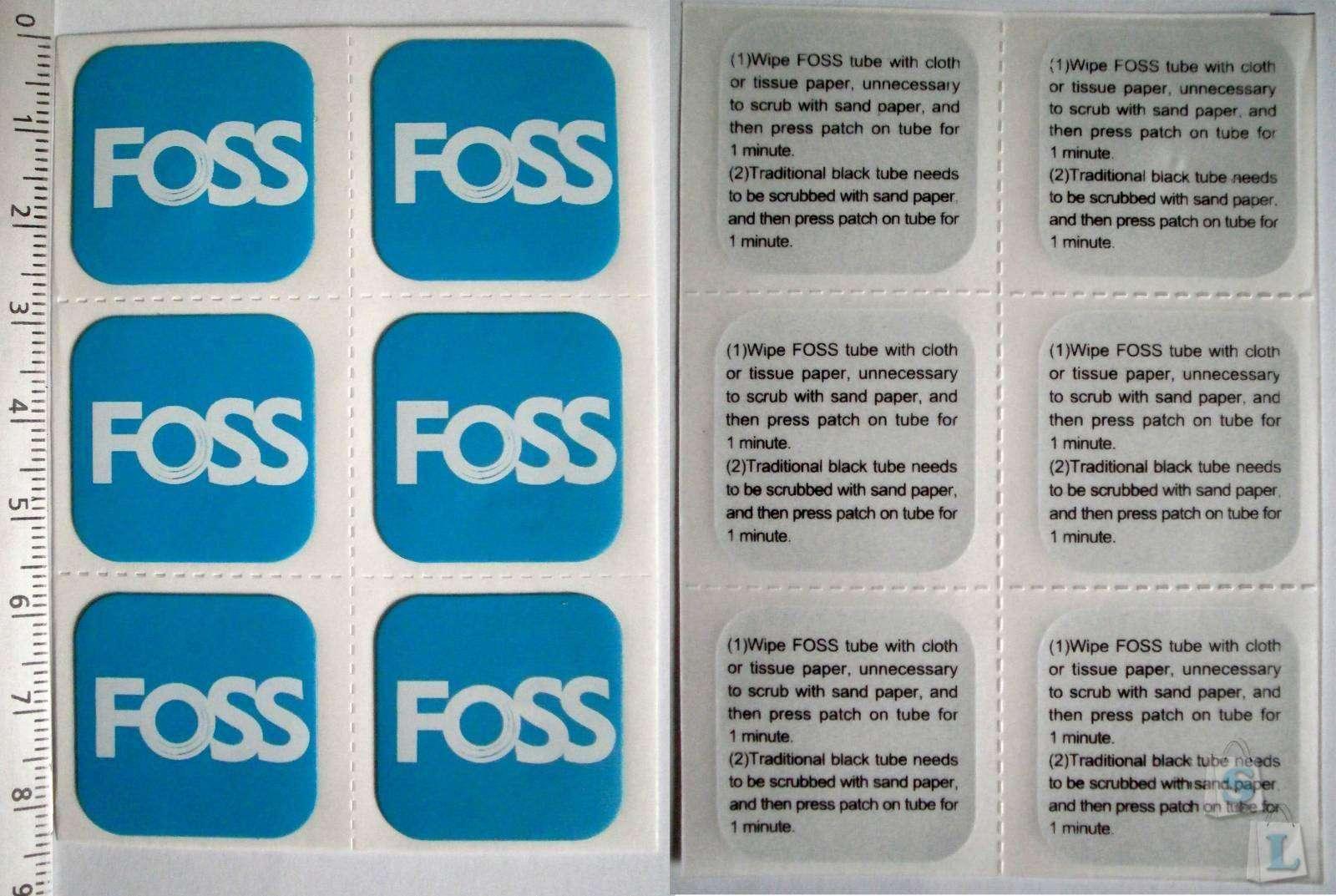 Aliexpress: Велосипедная камера FOSS с защитой от сдувания + латки