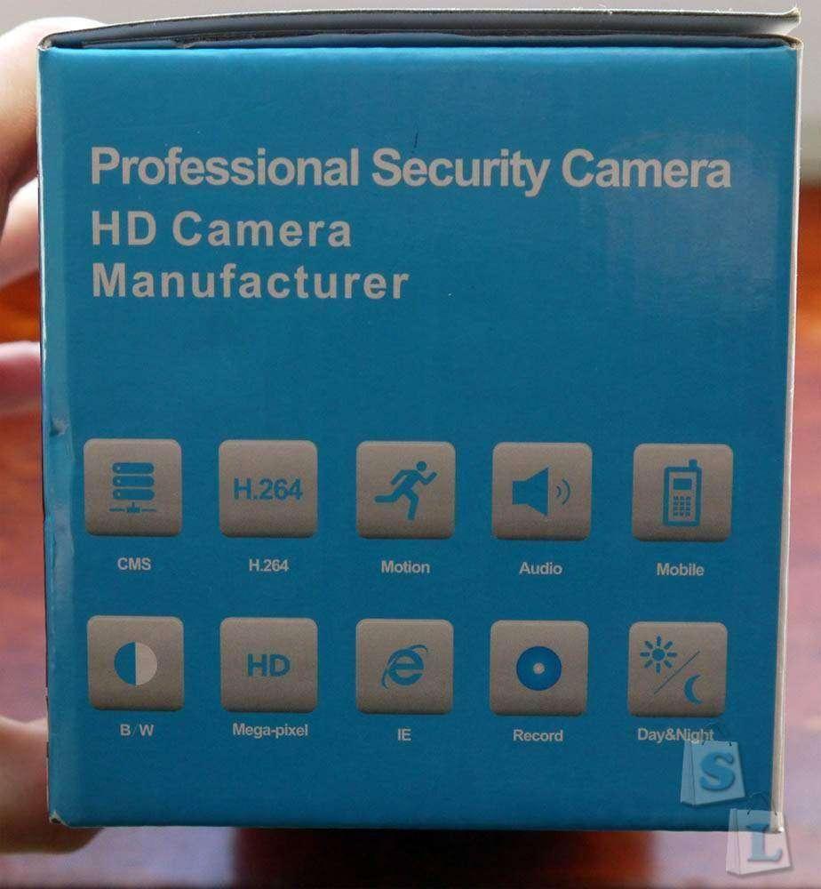 TVC-Mall: Наружная Ip камера SINOCAM SN-IPC-5001S, 1.0MP