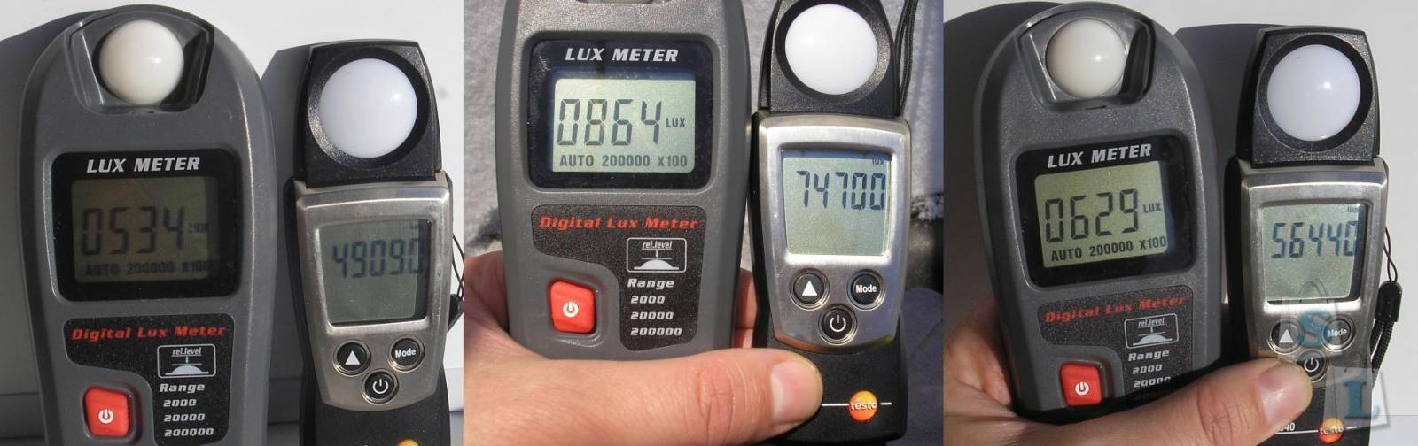 GearBest: Люксметр RZMT-30 (Digital Lux Meter)