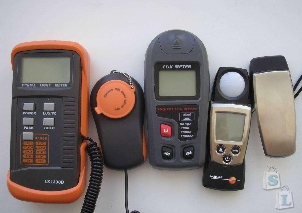 GearBest: Люксметр RZMT-30 (Digital Lux Meter)