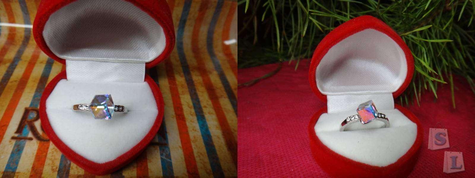 Aliexpress: Обзор кольца с 'кристаллами  Сваровски' купленного в Китае в сравнении с оригинальным набором (Swarovski Elements)