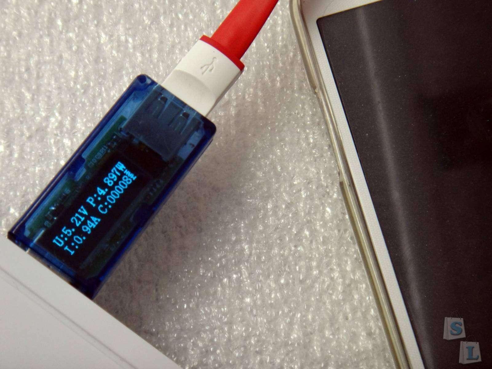 EverBuying: Обзор яркий USB фонарик LED 2 в 1 microUSB кабель, подсветка, фонарь, кабель
