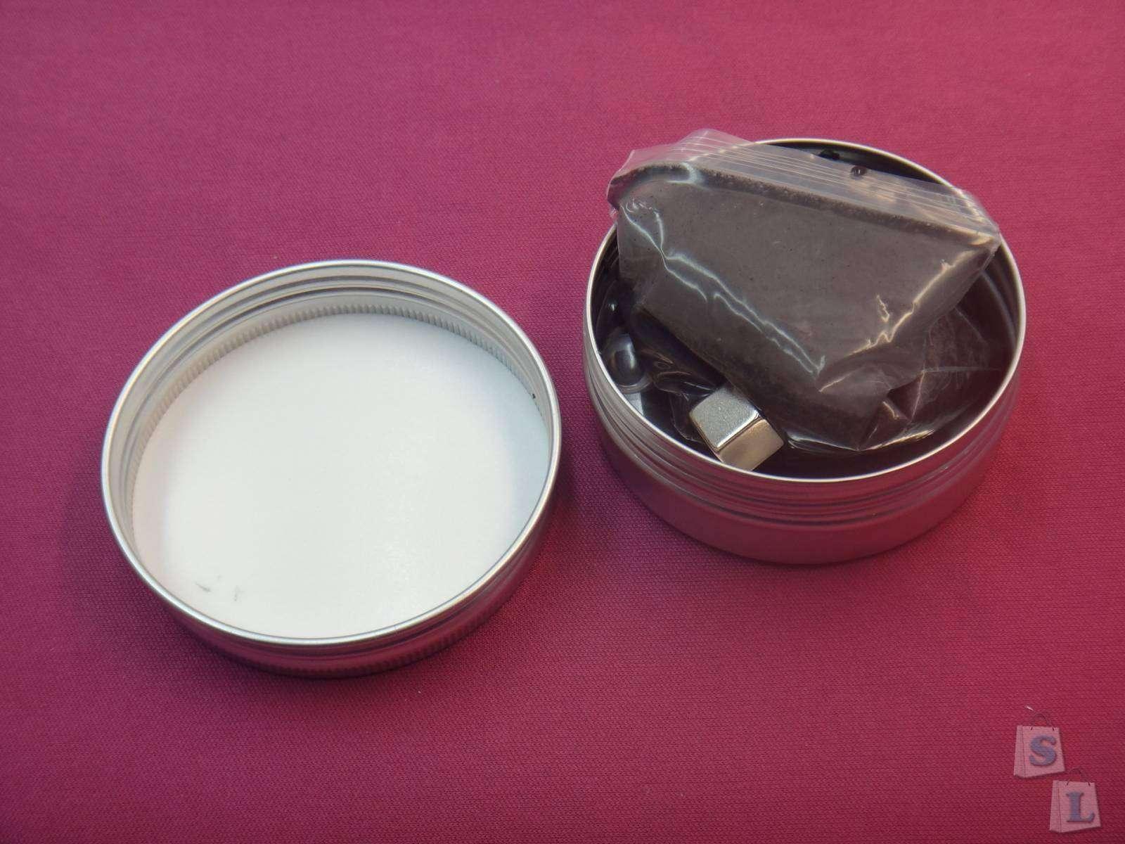 GearBest: MK - 003 Магнитный пластилин, жвачка, шпатлевка с неодимовым магнитом и глазками