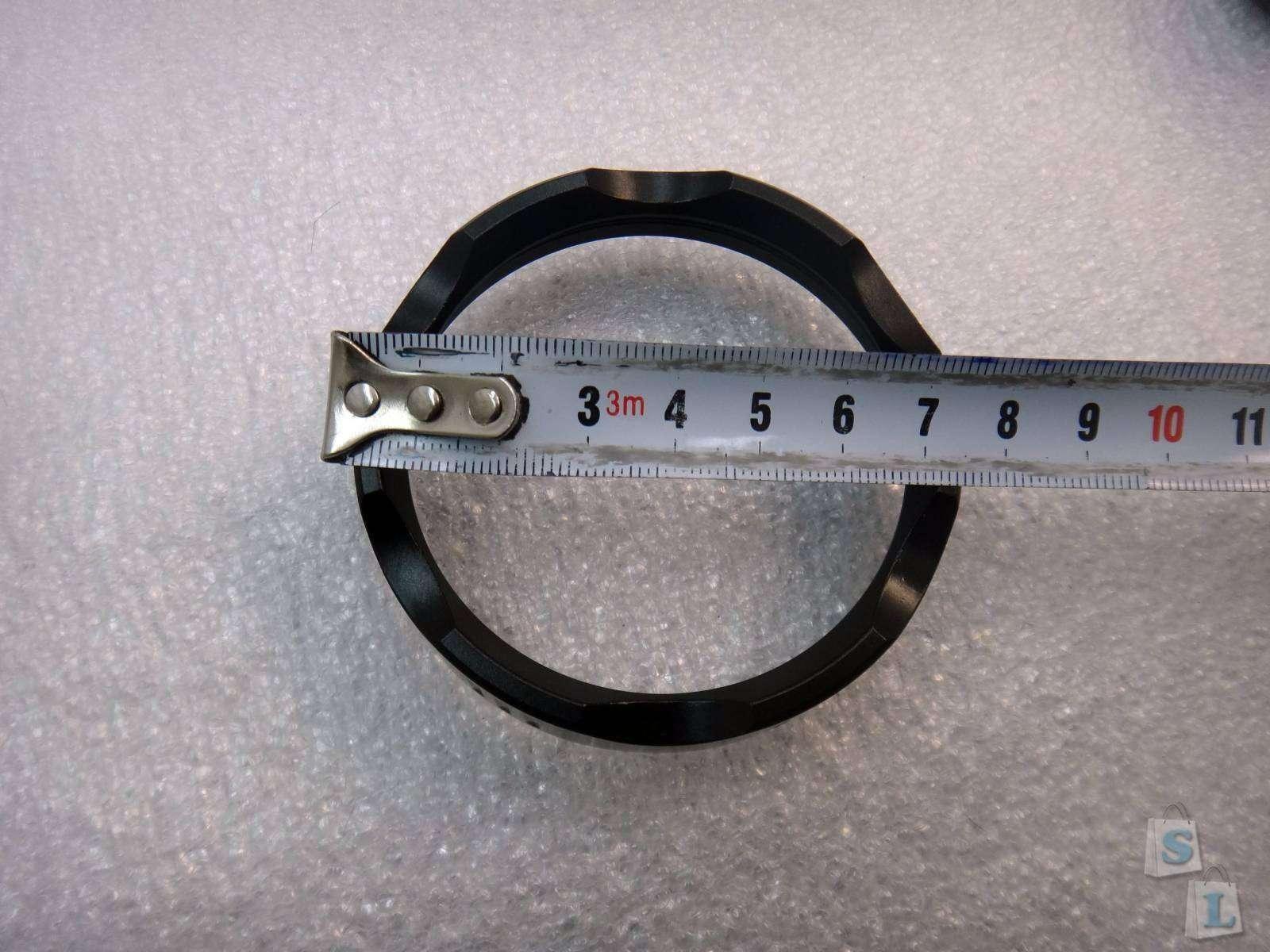 Tmart: SHARP EAGLE ZQ-F08  фонарь фара на светодиоде XHP-50 или полицейский фонарь дубина