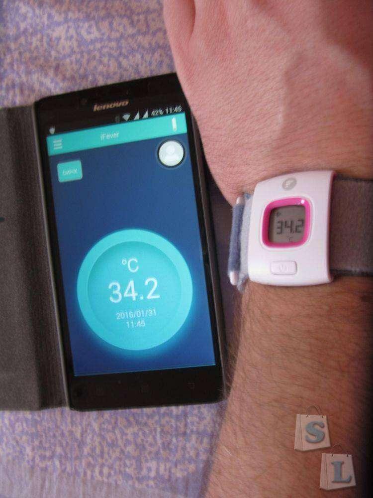GearBest: Детский термометр с функцией Bluetooth