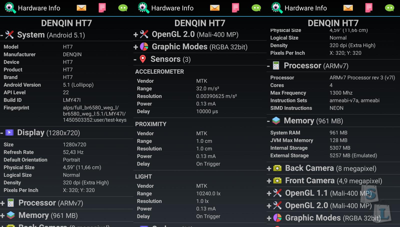 GearBest: HOMTOM HT7