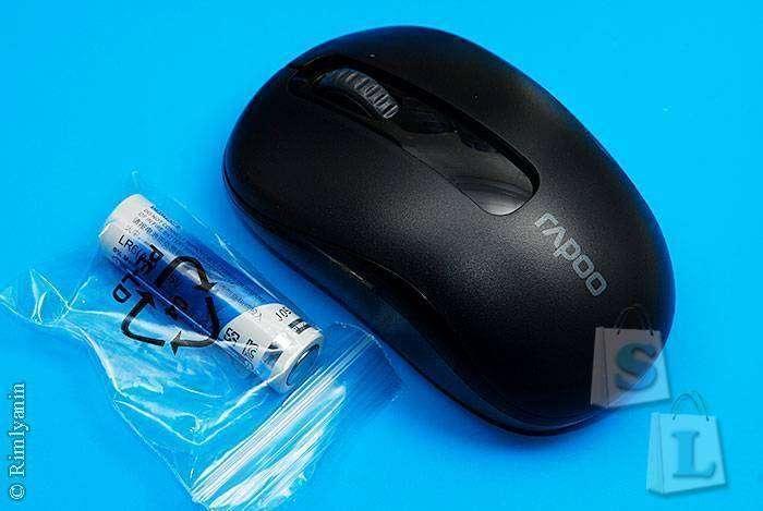 JD.com: Беспроводная оптическая мышка Rapoo M218 (Rapoo M10)