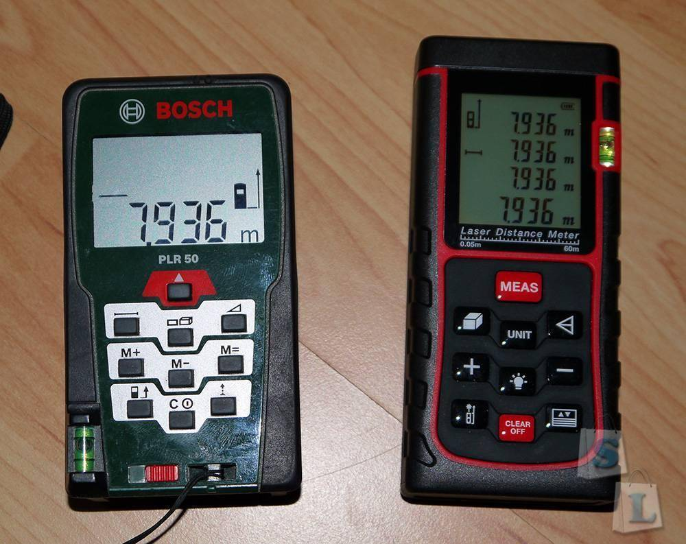 Banggood: Лазерный дальномер 60м (сравнение с дальномером Bosch)