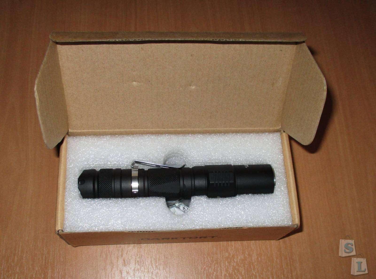 GearBest: Тактический фонарь Darktort DTC20