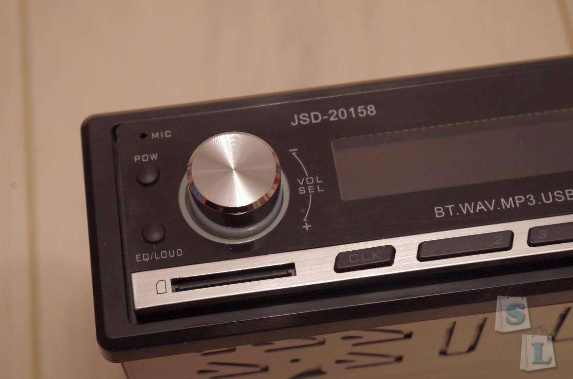 TomTop: Автомагнитола JSD-20158, которая приятно удивила