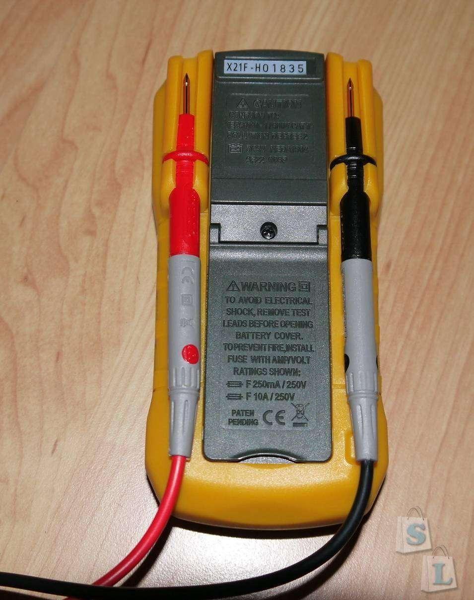 GearBest: Мультиметр HYELEC MS8233E