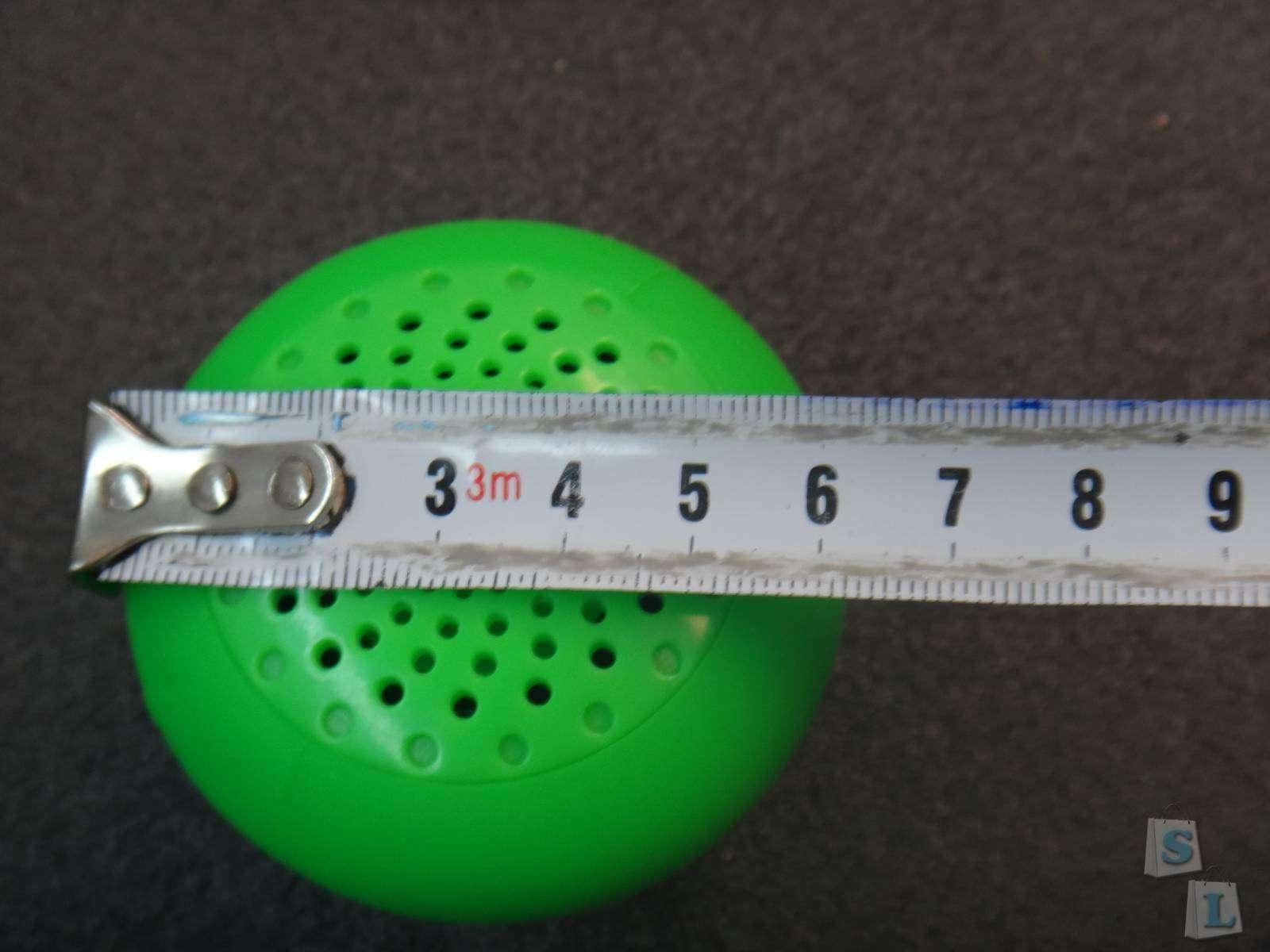GearBest: Влагозащищенная беспроводная колонка грибок MR001 - Wireless Bluetooth Speaker обзор
