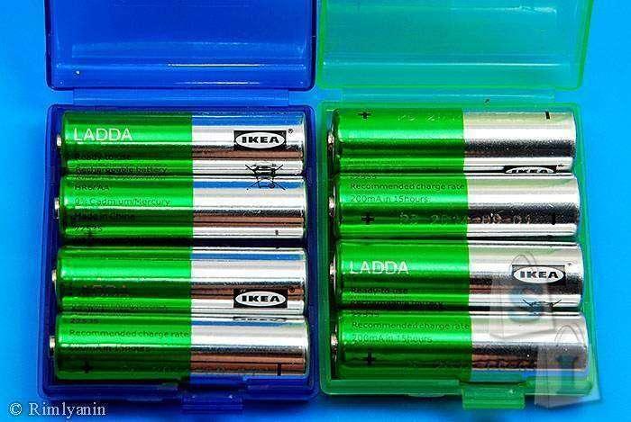 Aliexpress: Холдеры для АА / ААА аккмуляторов