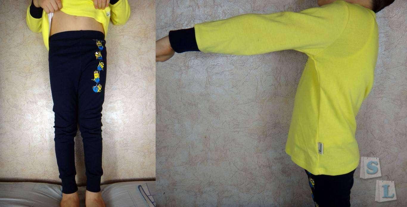 GearBest: Детская пижама с изображением миньонов
