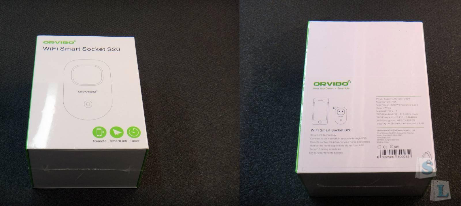 Banggood: ORVIBO WIWO-S20 умная wifi розетка с