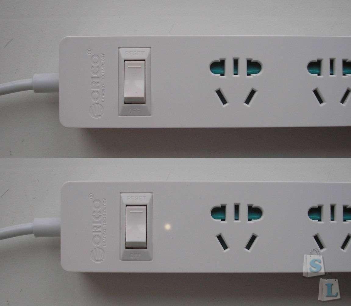 GearBest: Универсальный удлинитель с четырьмя USB портами (ORICO USB Charging Station)