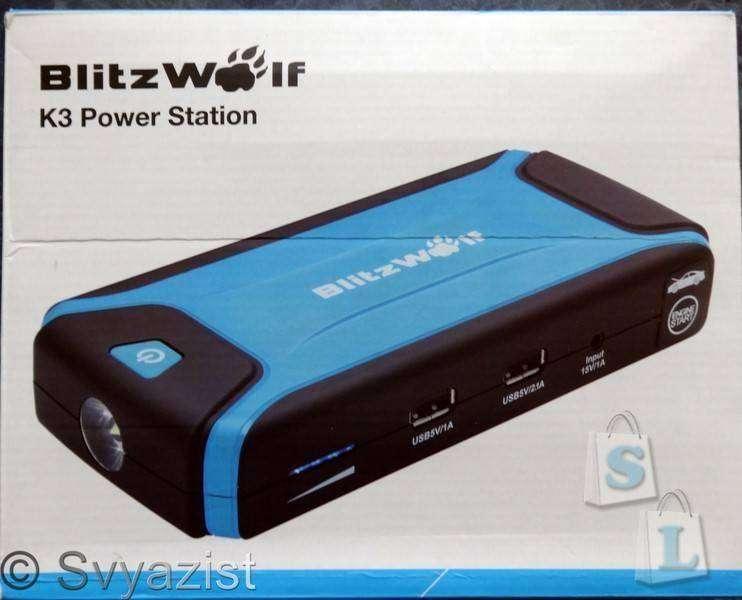 Banggood: Джамп стартер BlitzWolf® K3.