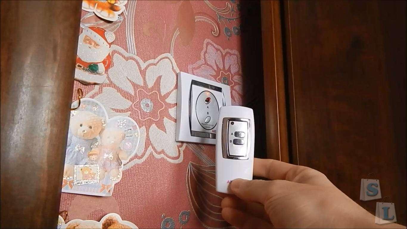 TomTop: Сенсорный выключатель для ленивых Funry