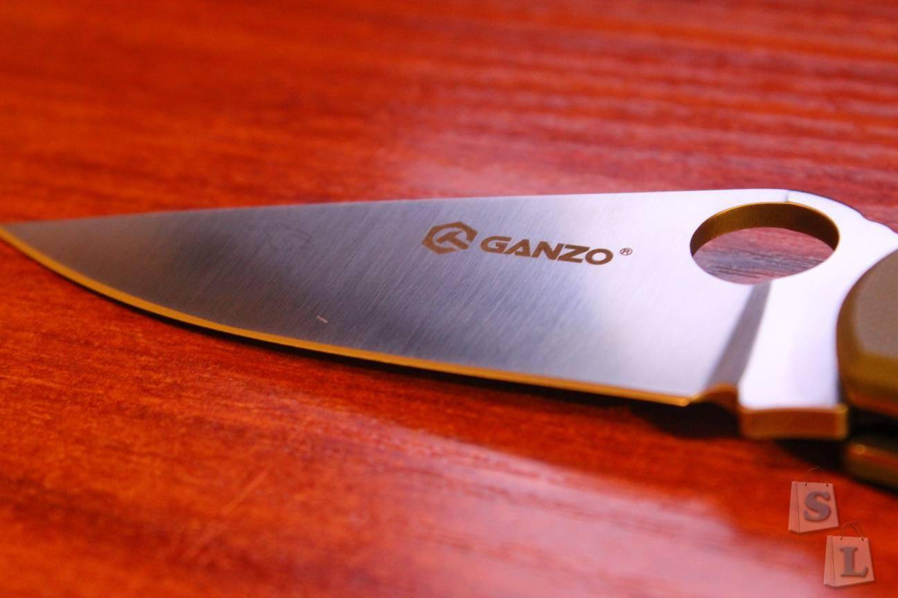 GearBest: Ganzo G729 (парамиля с аксисом)