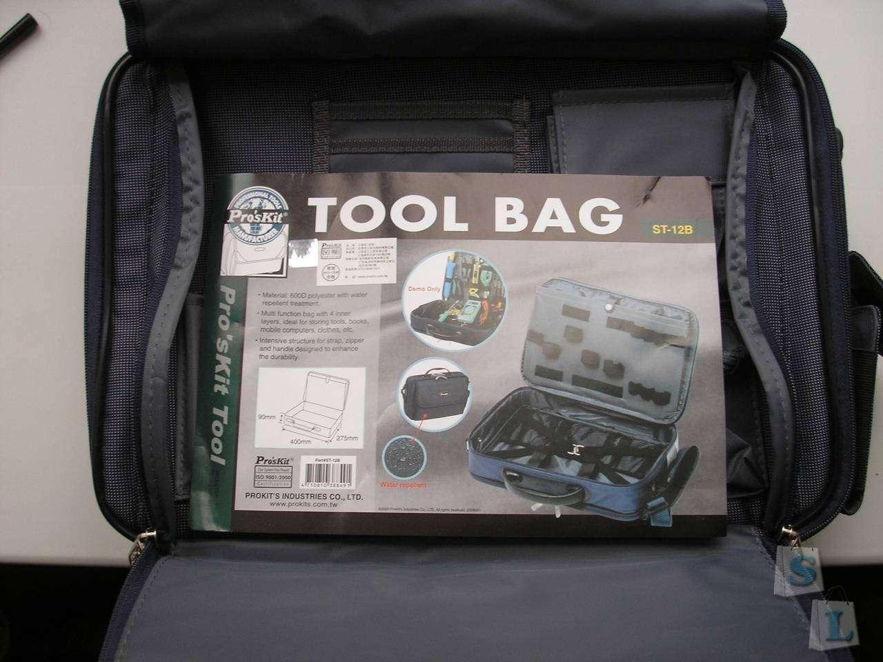 TomTop: Сумка для инструмента ST-12B (от Pro'sKit)