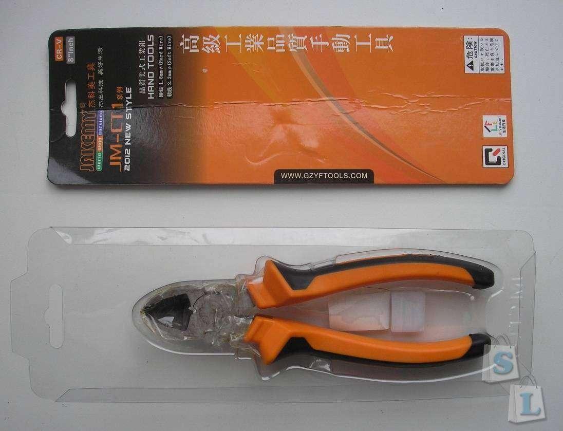 TVC-Mall: JAKEMY JM-CT1 8-inch Precision Diagonal Pliers Cutting Plier