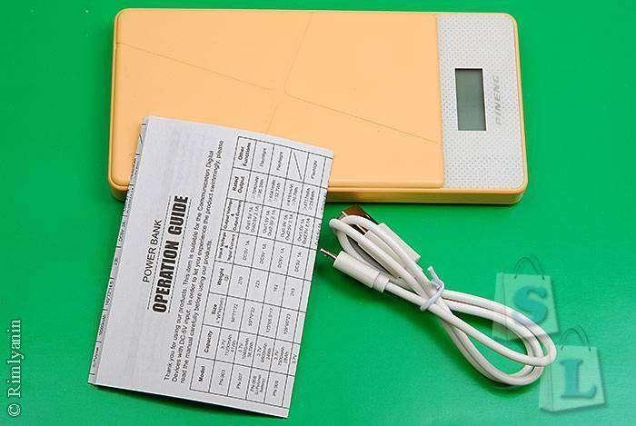 GearBest: Повербанк PINENG PNW-983S 10000mAh на Li-Po аккумуляторе