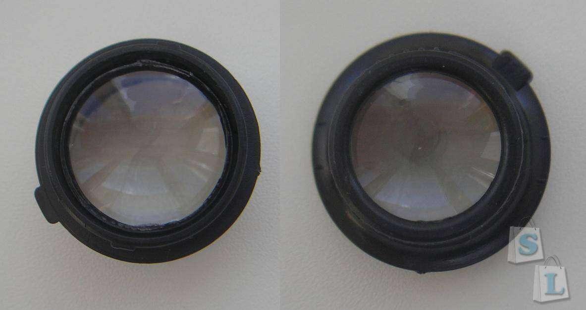 TVC-Mall: Очки со сменными линзами и подсветкой (для ремонта)