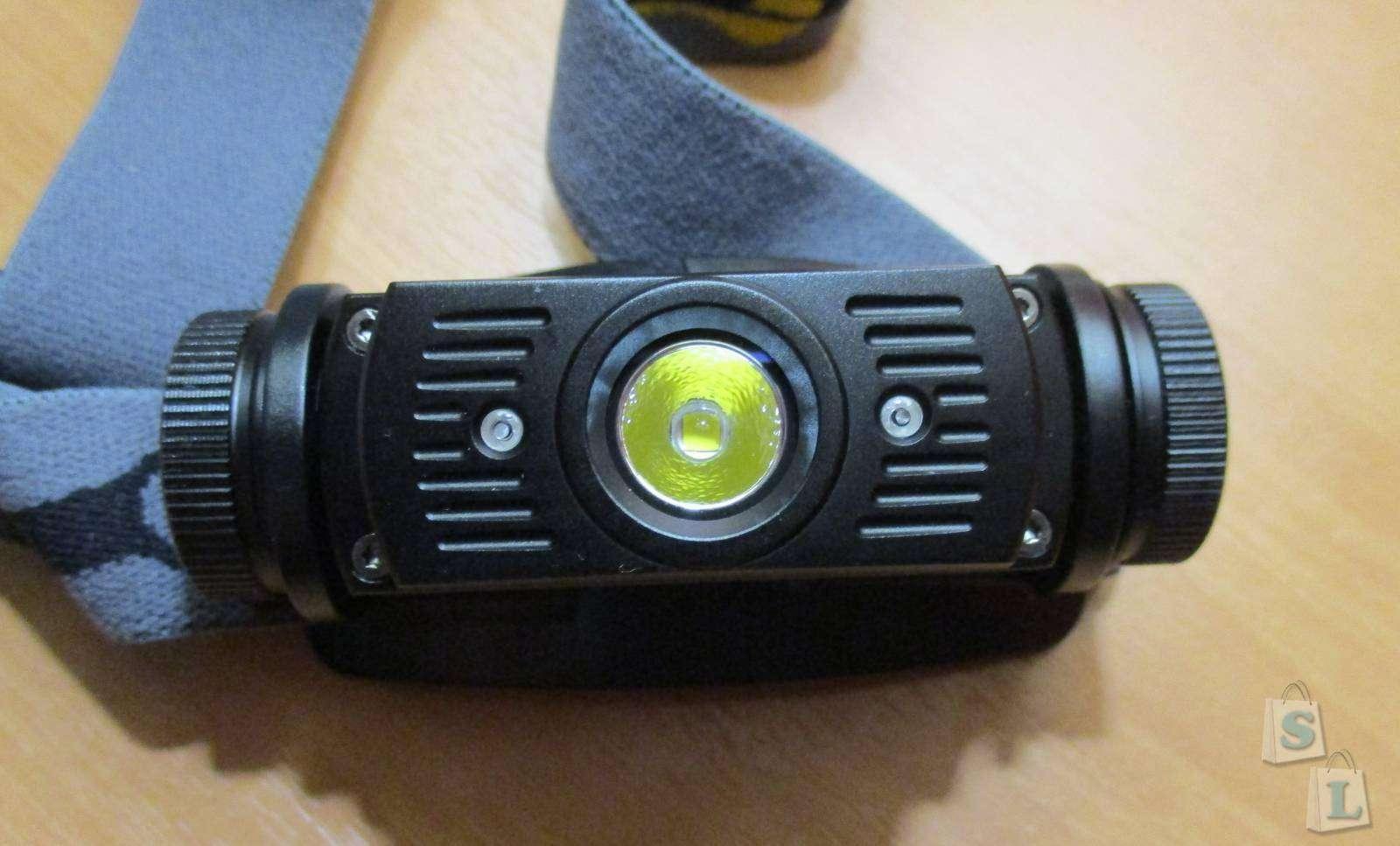 GearBest: Налобный фонарь Fenix HL60R
