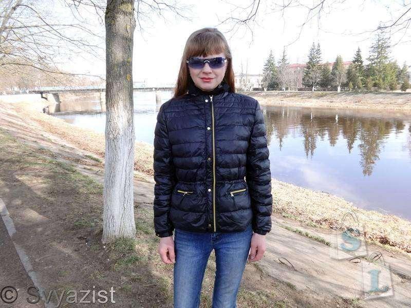 Banggood: Короткая женская демисезонная куртка-пуховик.