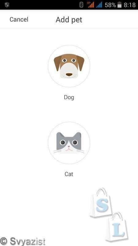 GearBest: PETKIT P2. Трекер активности, сна, здоровья и калорий для собак и кошек.