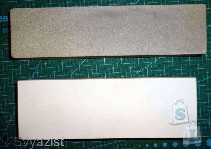 Banggood: Двухсторонний искусственный водный камень 3000/8000 грит, для заточки ножей.