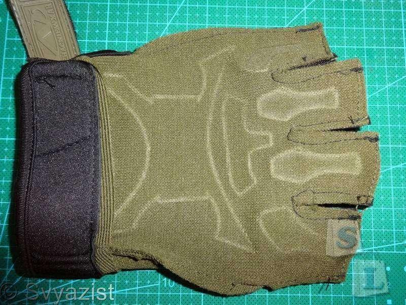 Banggood: Тактические перчатки с короткими пальцами.