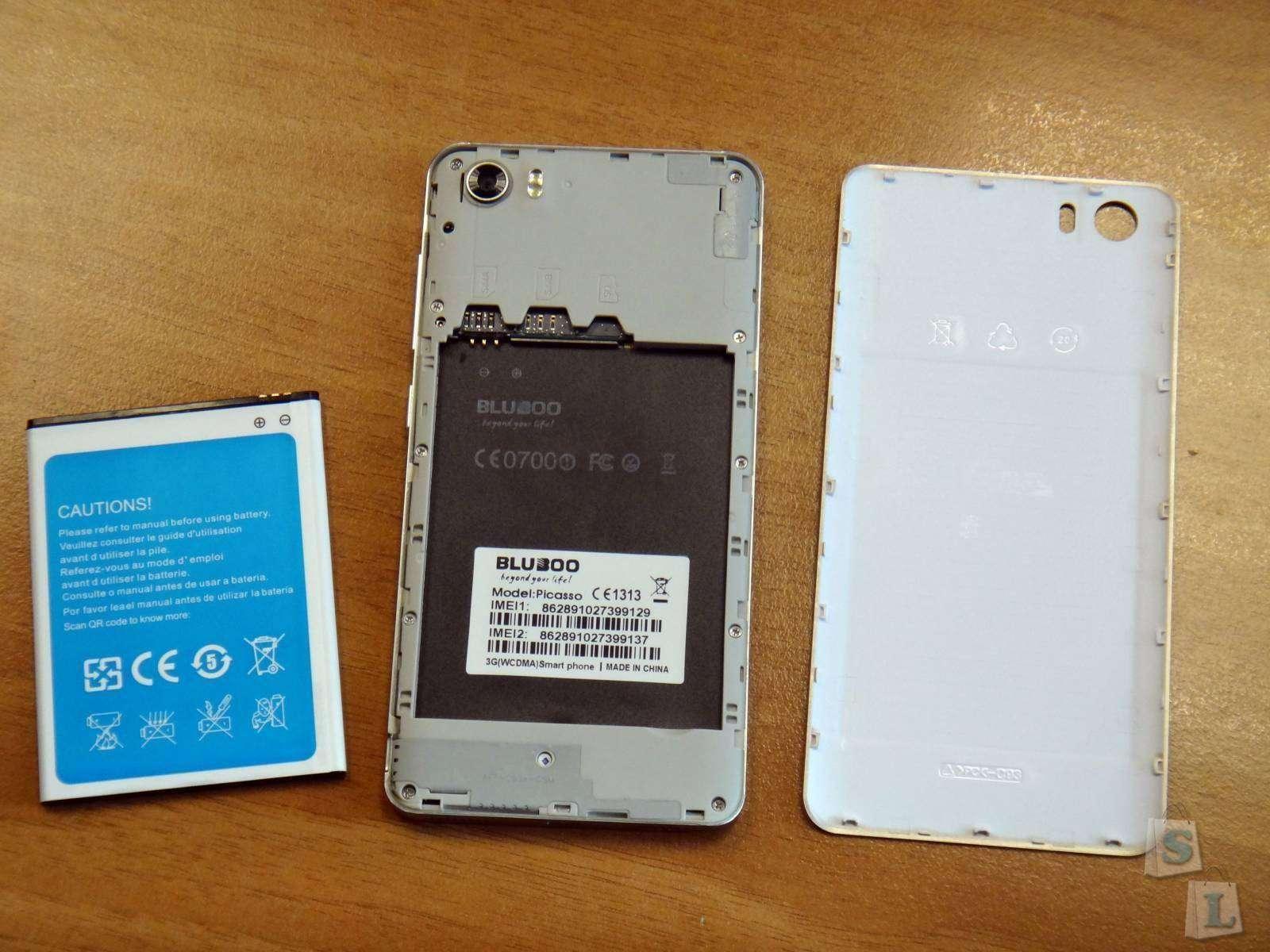GearBest: Bluboо Picassо стильный и бюджетный смартфон