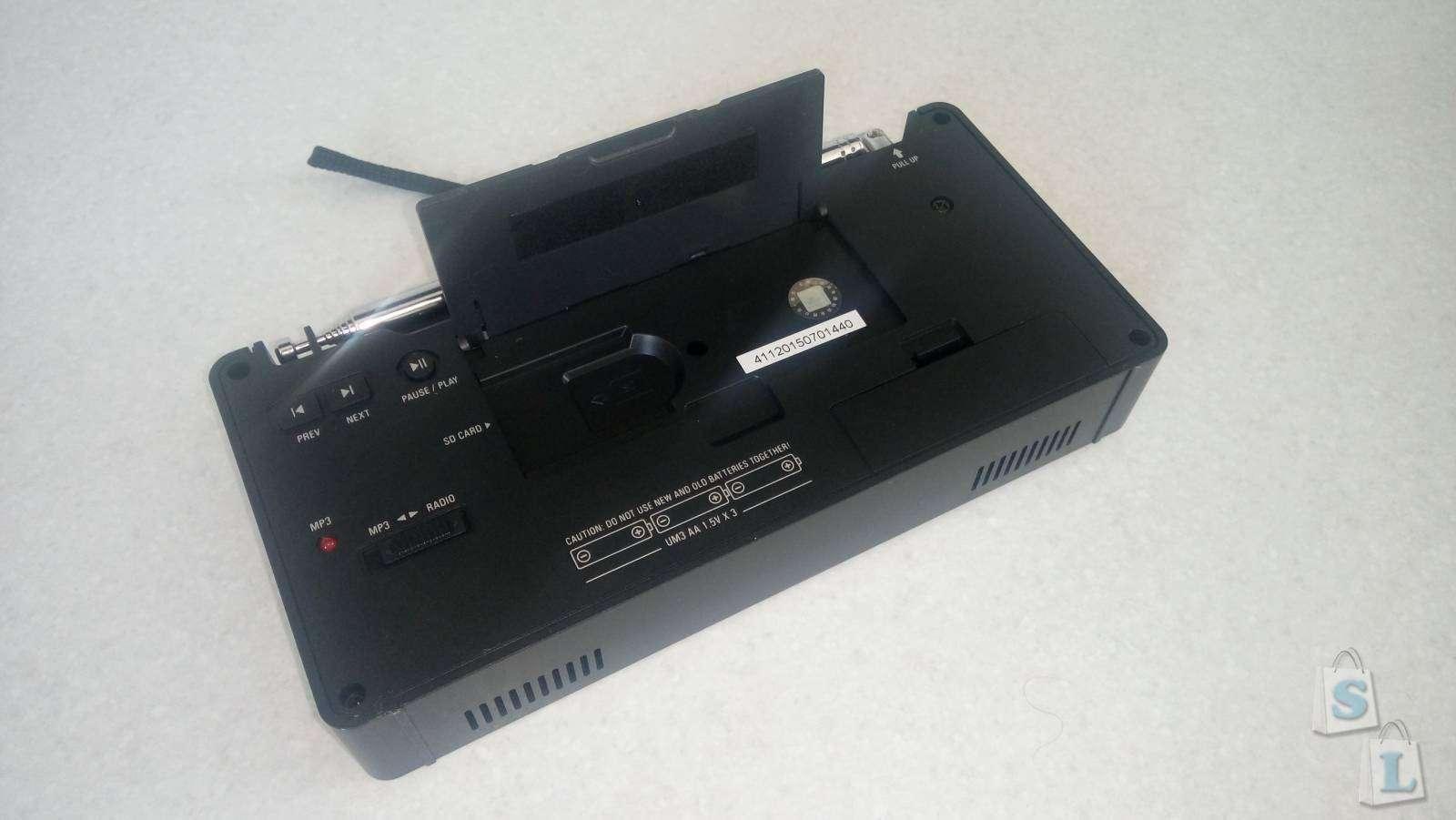 GearBest: Радиоприемник Tecsun PL-398 – карманный малыш, с интересным функционалом.