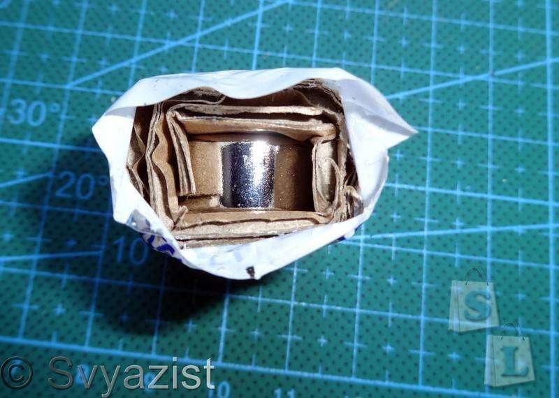 Banggood: Неодимовый магнит-шайба марки N52 размером 20 на 10 мм и его применение. Микро-обзор.